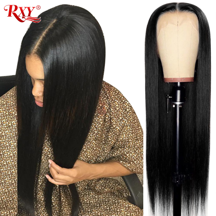 Malaysian Straight Lace Front Human Hair Wigs With Baby Hair Lace Front Wigs For Black Women