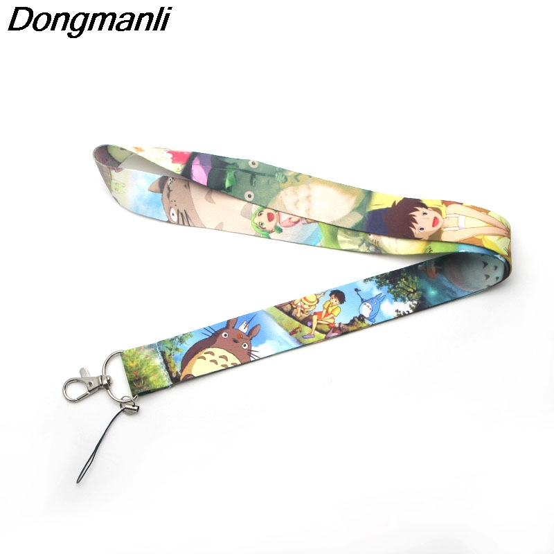 M1764 Dongmanli My Neighbor Totoro Movie TV lanyard cartoon Strap Neck Lanyards for keys ID Card Mobile Phone lanyards