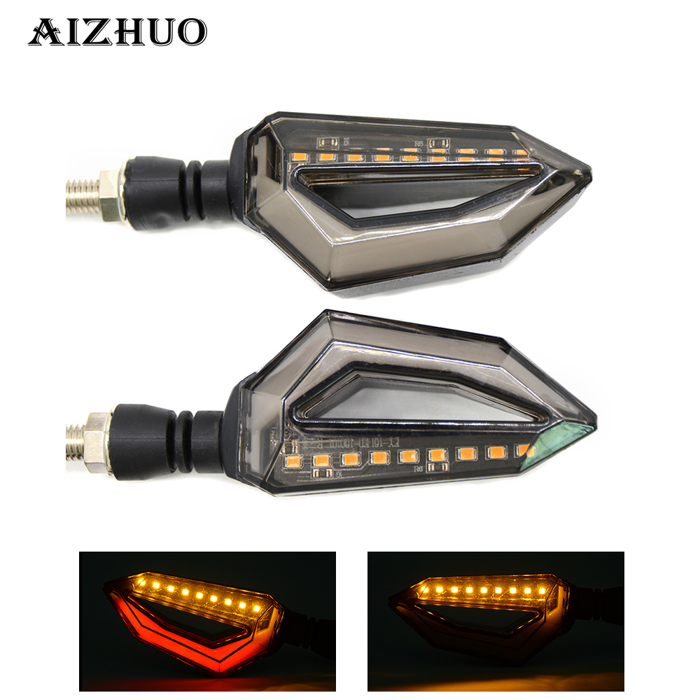 Universal Motorcycle Turn Signal Light Indicators Amber <font><b>LED</b></font> Lights For <font><b>BMW</b></font> K1600 GT GTL R1200GS <font><b>R1200R</b></font> R1200RT R1200S image