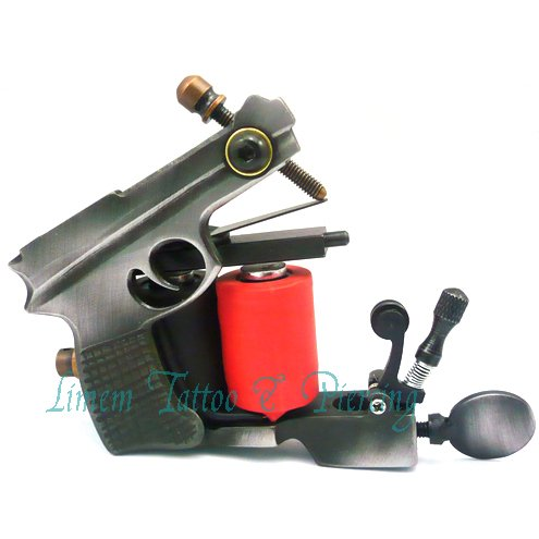 custom Iron tattoo machine tattoo gun new latest model free shipping ...
