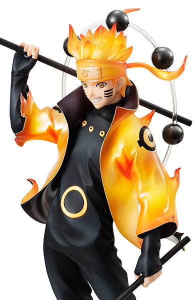 Naruto figures Rikudousennin Modo Uzumaki Naruto Figure Toy 18CM naruto shippuden action figures Naruto Kyuubi Doll D16 4