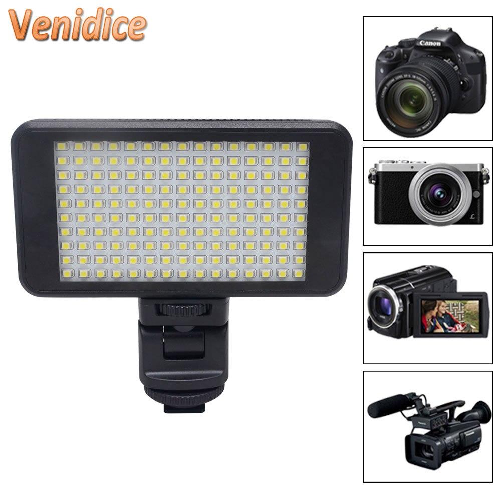Mcoplus MCO-150 LED 비디오 라이트, Canon Nikon 소니 펜탁스 Panasonic Olympus & DV 카메라 용 160W LED 라이트