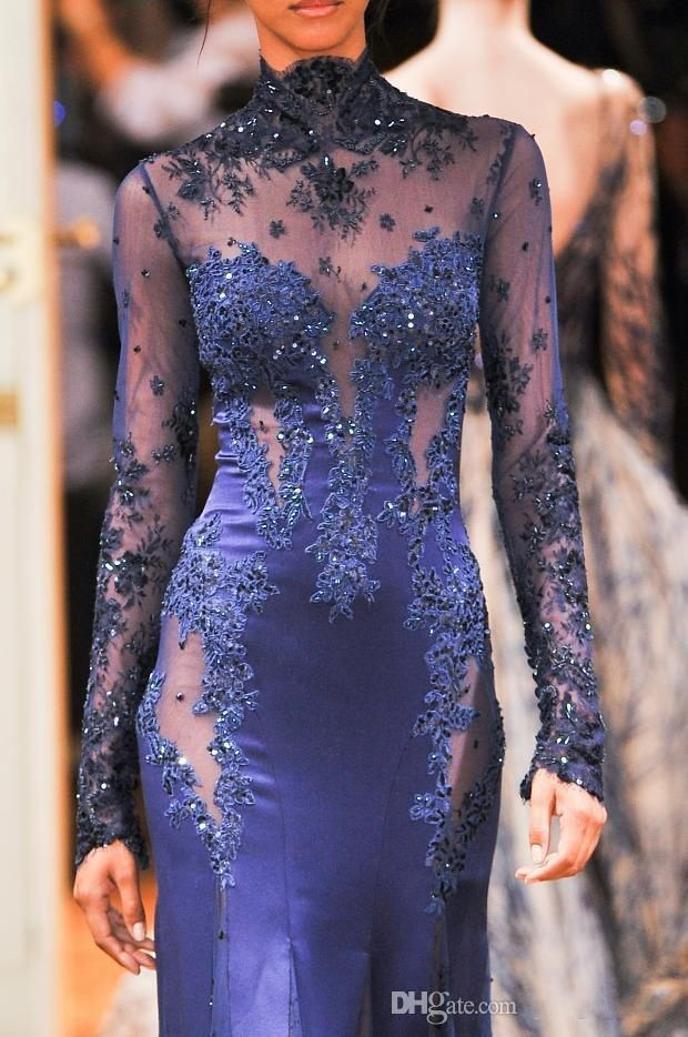 2014-zuhair-murad-high-neck-lace-formal-evening (7)_conew1