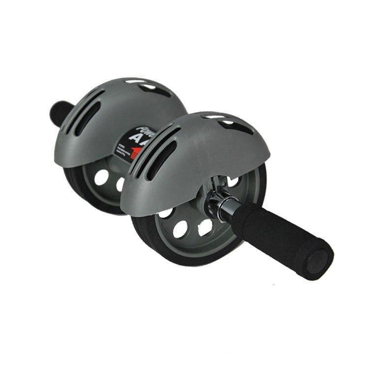 Nouvelle roue abdominale saine muette taille mince abdomen deux roues muette santé abdominale roue abs sport Ab rouleaux