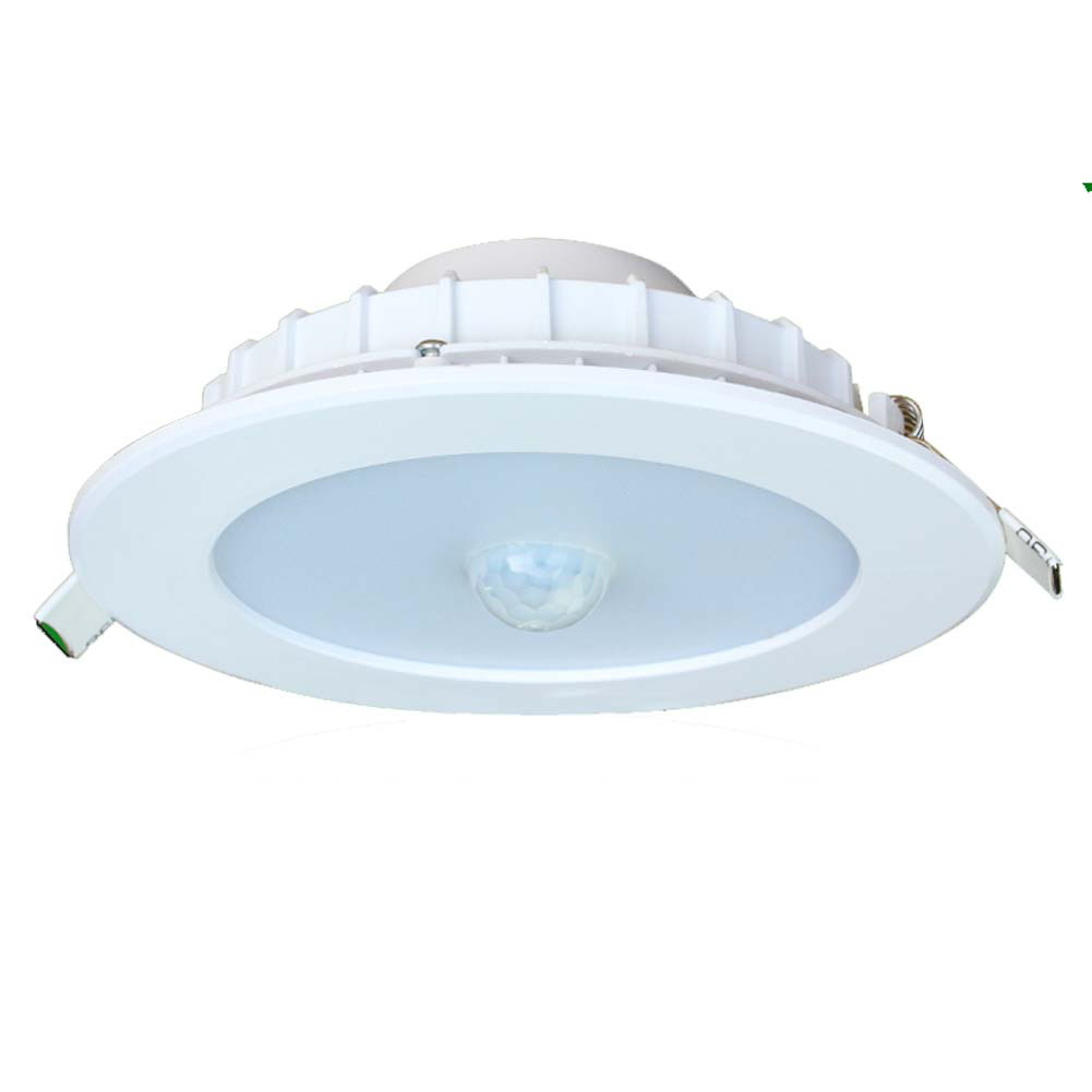 12w Led Motion Detector Dowinglight Flash Mounted Security Ceiling Lights Pir Ir Porch Light