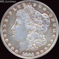 Hoa Kỳ 1884 90% Bạc Morgan One Dollar Đồng Tiền Sao Có Thể Lựa Chọn Nhiều Loại để Hãy Old Phong Cách
