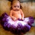Nueva princesa de la llegada muchacha de los cabritos de múltiples capas de tul de baile fiesta faldas Short Cake falda del tutú 2-8Y
