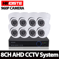 HD 8 2500TVL 8CH CCTV System 8 Channel CCTV 1080P 1080N 720P 960H Video Surveillance DVR