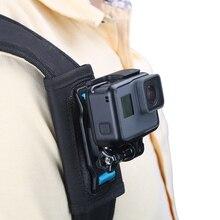 Universal Quick Release Strap Mount Shoulder Backpack Mount for GoPro Hero 7 6 5 4 3 SJCAM SJ4000 EKEN H9 Yi 4K Camera accessory