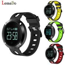 Lemado T1 smart Сердечного ритма артериального давления браслет IP68 Водонепроницаемый Фитнес-трекер спортивные смарт-браслет для IOS телефона Android