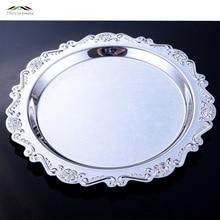 Elegante Dessert Obst Kuchentortenständer Platte Obst Tablett Palette Dekoration Hochzeit Geschirr teller 09901 Runde