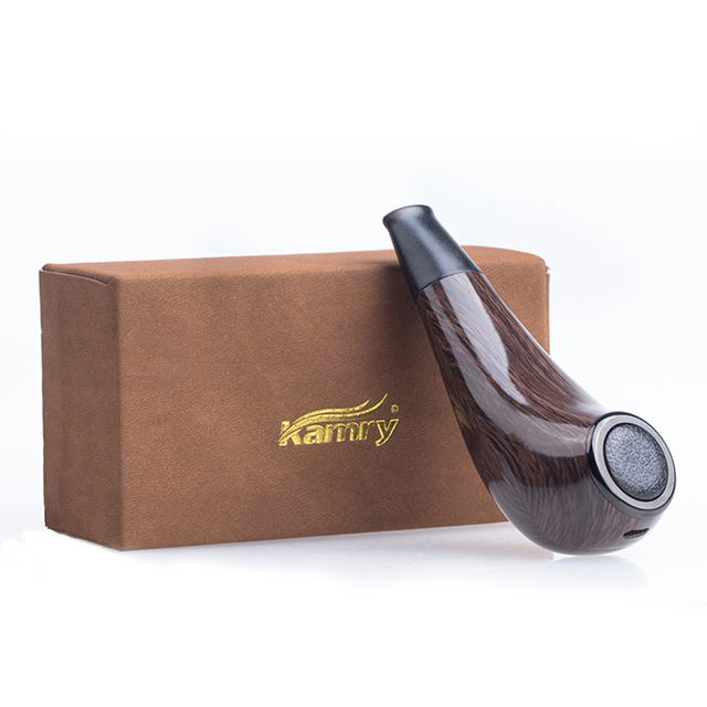 , New Original Kamry Turbo K EPipe Kit  Big Vapor 1000mAh Battery & 2ml Tank Wooden E Pipe Mod E-Cigarette Vape Kit VS K1000 Plus