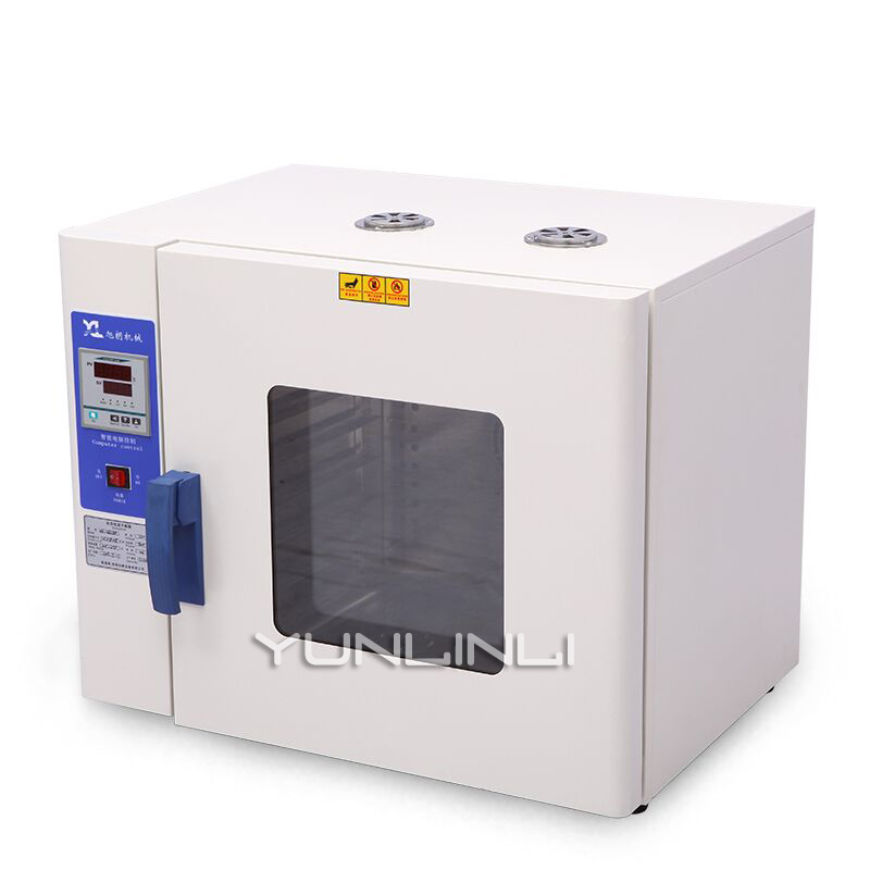 Electric Blast Drying Oven Industrial Constant Temperature Oven Chinese Herbal Medicine Laboratory Vacuum Dryer HK-350AS+ 5 c to 300 c electric heating blast drying oven with stainless steel liner and digital display