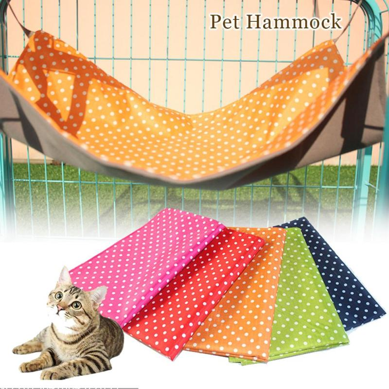 Dots Pet Products Cat House Pet Sleeping Bag Oxford Cloth Cat Hammock Cat Bed Sleeping Bag Pet Products Supplies A20