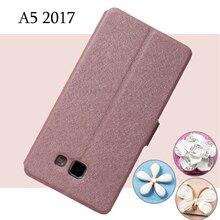For Samsung Galaxy A5 2017 Case for Samsung A5 2017 PU Leather Flip Case for Samsung Galaxy A5 SM-A520F Cover Phone Capa Coque