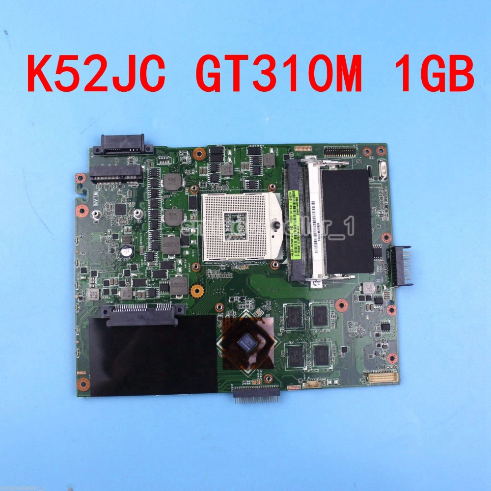 GT310M 1GB N11M-GE2-S-A1 K52JC Laptop motherboard rev2.0 for Asus A52J K52J K52JC X52J A52J Mainboard K52JC motherboard 100% Ok n13m ge2 aio a1