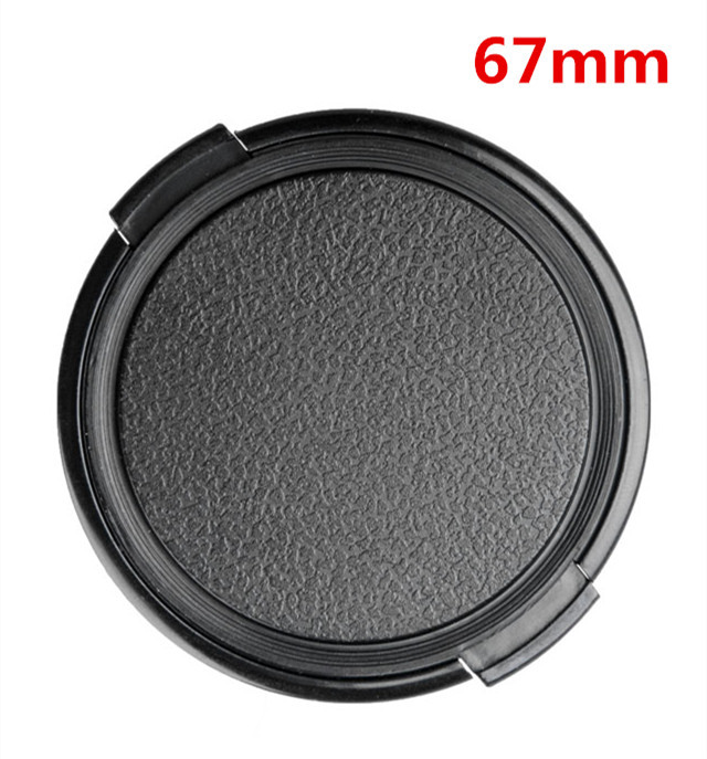 67mm Camera Lens Cap Protection Cover Lens Front Cap for S C N 67mm DSLR Lens free shipping
