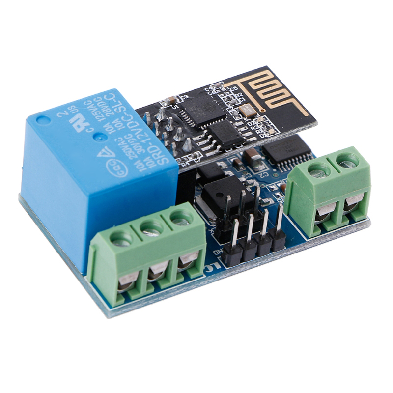New WIFI Relay 12V ESP8266 2Bit WIFI Relay IOT Intelligent Home Mobile APP WIFI Relay control hot new wifi
