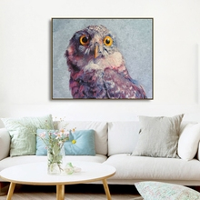 Watercolor Lovely Owl Animals Prints Paintings Home Decoration Wall Art Pictures For Living Room Bedroom