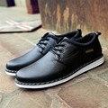 Spring Summer Luxury Brand Shoes Men Business Men's PU Leather Shoes Men Flats Mens Dress Shoes