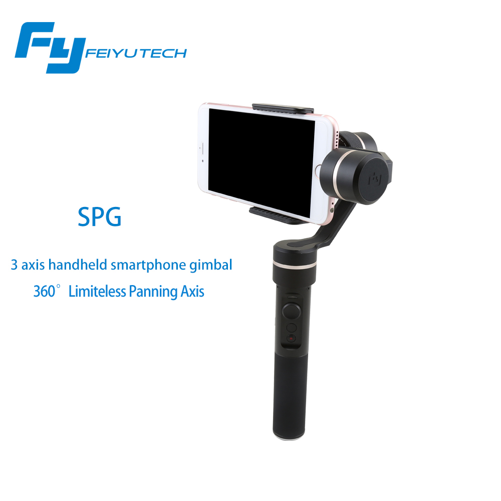купить Feiyutech Feiyu SPG 3 axis handheld smartphone stabilizer gimbal for iPhone 6s plus iPhone 7 PK Smooth C OSMO mobile недорого