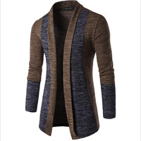 Classic Men Sweater Brand 2017 New Arrival Men Warm Sweater Fashion Patchwork Knitwear Slim Fit Male
