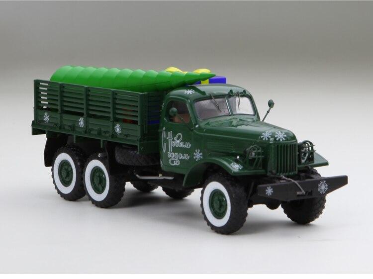 Collectie Hier Sm 1:43 Gil 157 Zil Van Kerst Special Edition Limited Legering Model Auto 1/43 Schaal Truck Collectie Modellen Voertuig Speelgoed Turcks