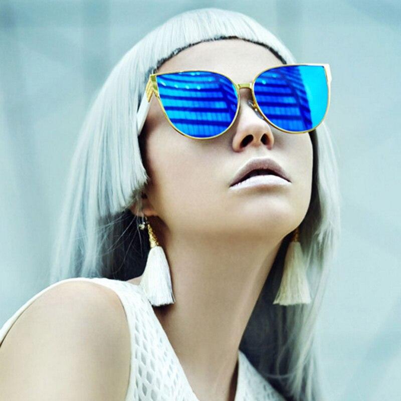 Poznati brend mačkasti dizajner hip-hop modne sunčane naočale - Pribor za odjeću - Foto 4
