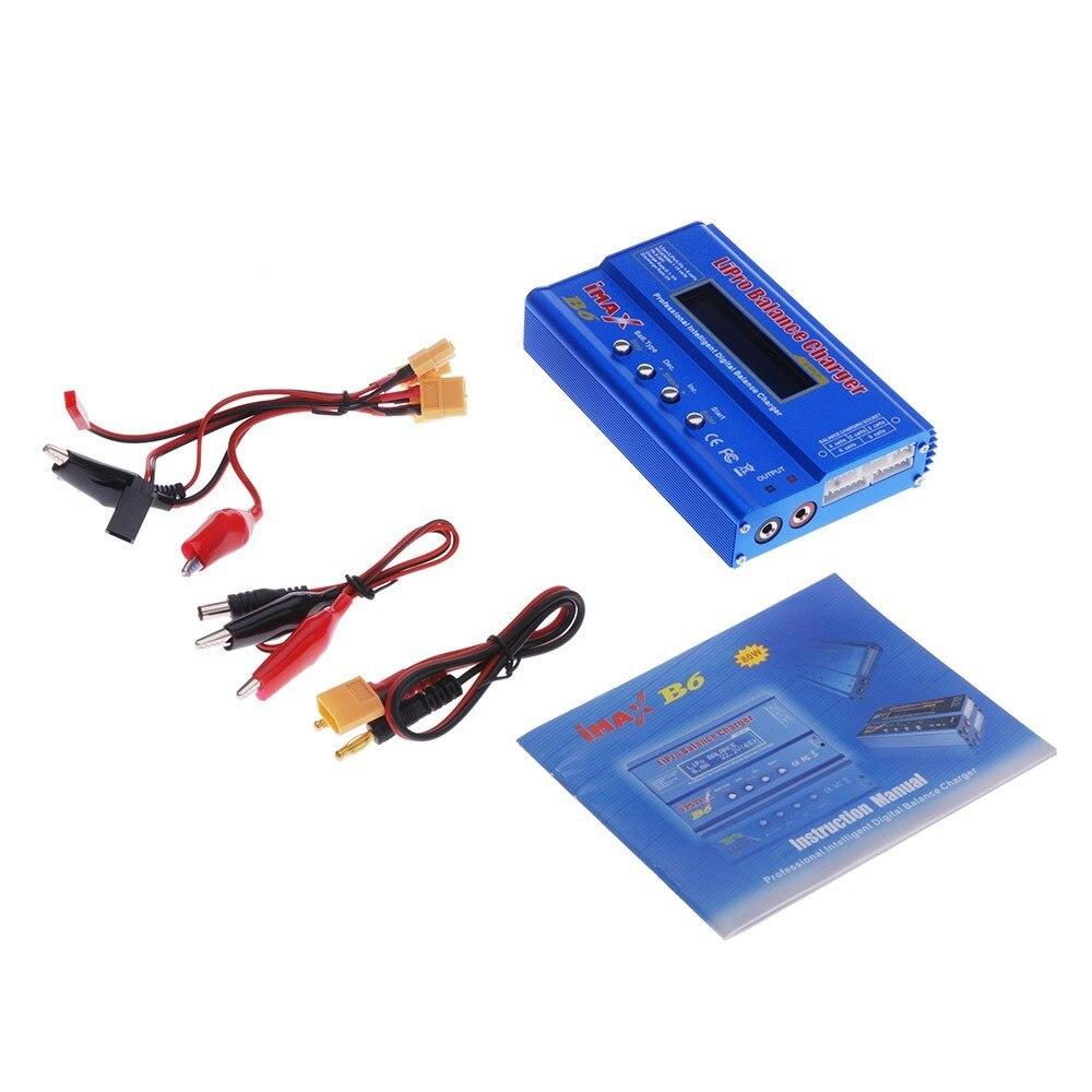 High Quality IMAX B6 Lipro NiMh Li-ion Ni-Cd RC Battery Balance Digital Charger For NiMH NiCd Battery 80W Max