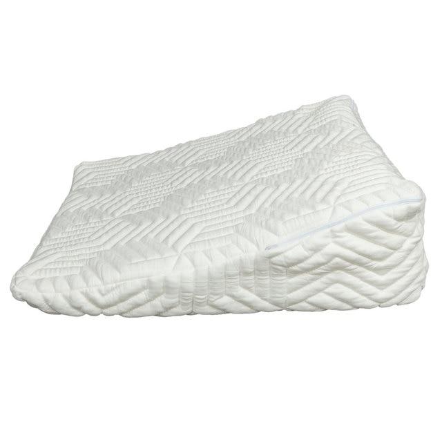 Merveilleux Memory Foam Wedge Pillow Bed Back Lumbar Neck Support Comfort Sleep  Adjustable US