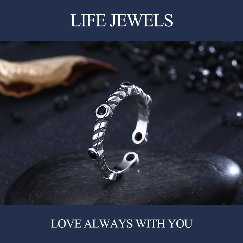 Authentic100 925 Sterling Silver Stars Crystal Rings Zircon Charm l Women Luxury Valentine 39 s Day Gift Jewelry ZJ 18223 in Rings from Jewelry amp Accessories