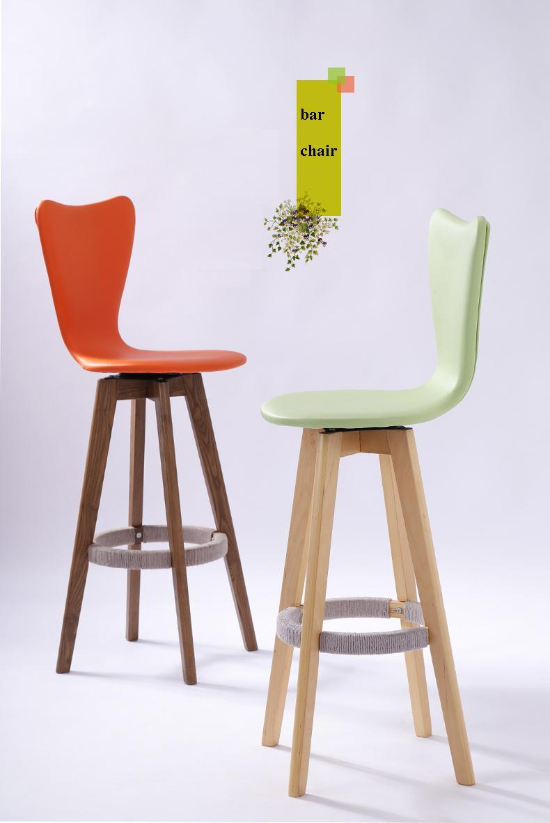 bar chair rotation hotel Art Teaching Society stool free shipping