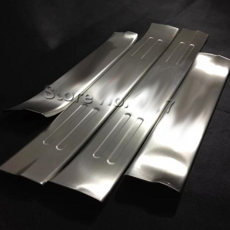 For Mazda CX-5 cx5 2014 2015 2016 inside Door Sill Scuff Plate Stainless Steel Car Styling Accessories
