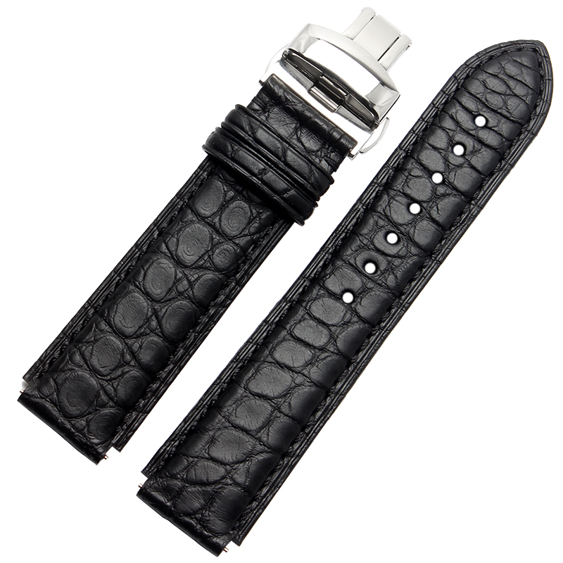 Quality Crocodile Watch Strap Waterproof And Breathable For HUAWEI Smart Watch band Luxury Watch accessories for samsung gear s2 classic quality crocodile skin watch band mens luxury smart watches accessories