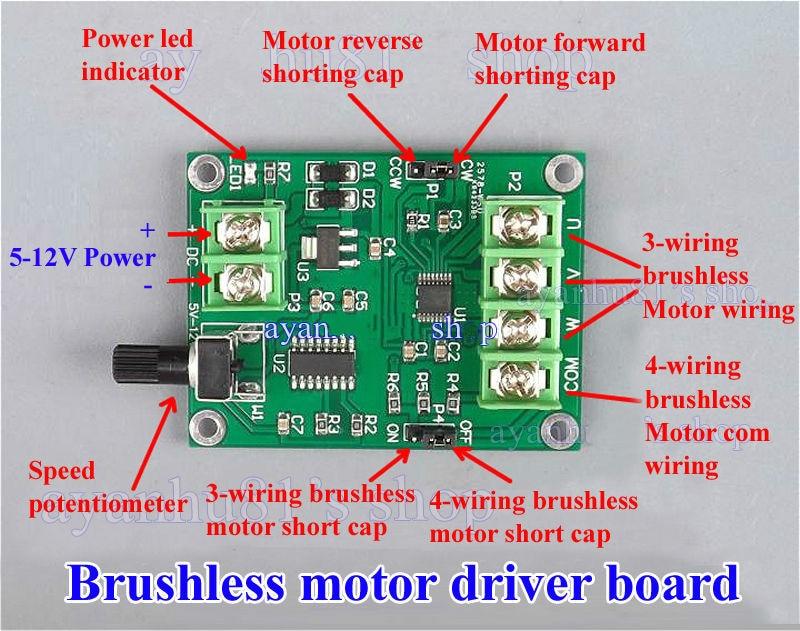 Popular controller board hard drive buy cheap controller for Brushless motor controller ic