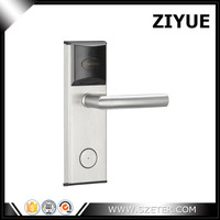 Stainless steel Smart Keyless Digital Electronic RFID Card Reader Hotel RF Door Locks for System Free Software ET1002RF