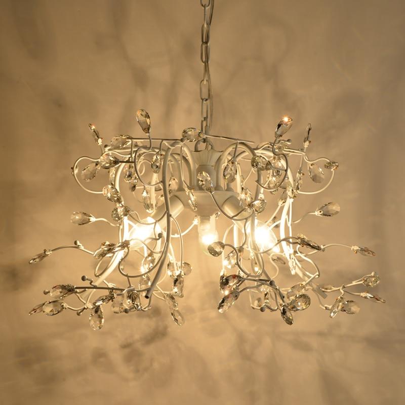 amerikaanse crystal hanglampen retro restaurants kleding bar koffie winkels decoratieve crystal verlichting zwart hanger lampen za in amerikaanse crystal