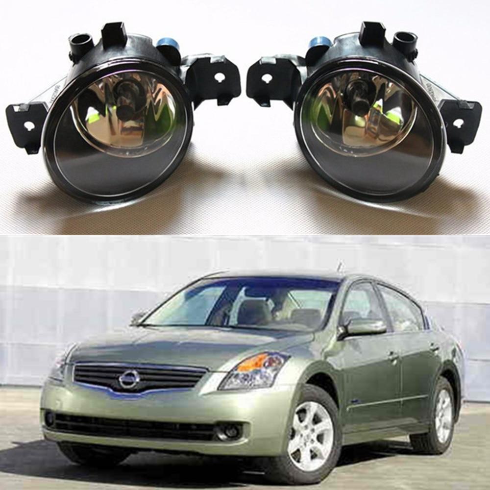 For For NISSAN Altima 2008-2014 Car styling Fog Lamps Front bumper halogen Lights 1set