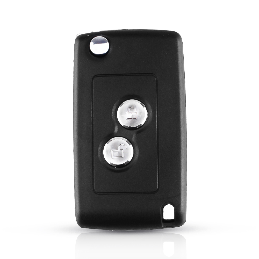 Case Modificato chiave per Peugeot 206 207 306 406 For Citroen NE73 Blade Key Shell Case 1