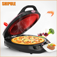220V Electric Crepe Maker Multifunctional Baking Pan Chinese Spring Roll Machine Pancake Pizza Including Whisk And Mixing Bowl