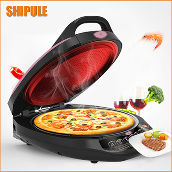 220V Electric Crepe Maker Multifunctional Baking Pan Chinese Spring Roll Machine Pancake Pizza Including Whisk And Mixing Bowl цена 2017