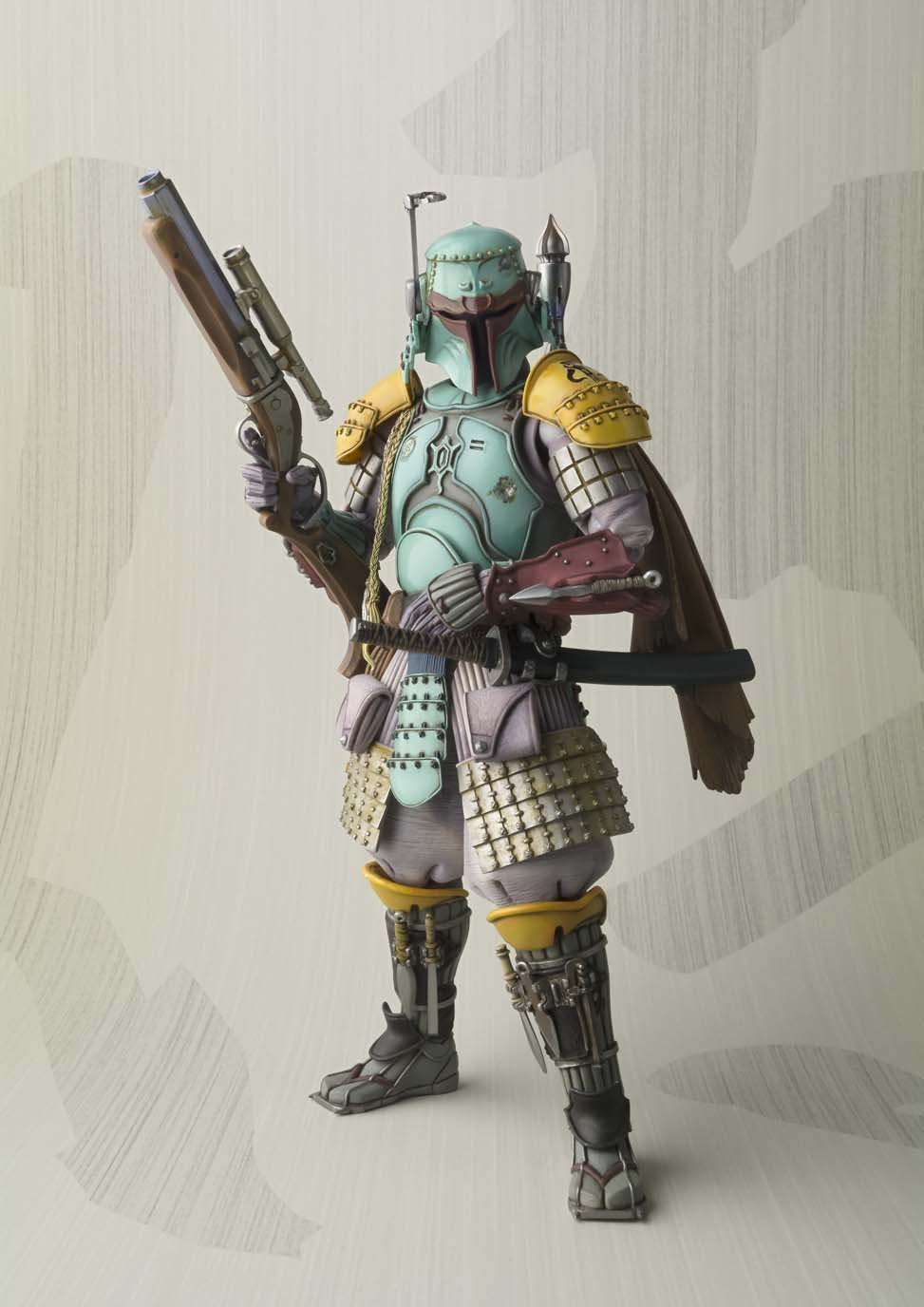 Movie Figure <font><b>18</b></font> CM <font><b>Star</b></font> <font><b>Wars</b></font> <font><b>Boba</b></font> <font><b>Fett</b></font> SIC 1/7 scale painted PVC Action Figure Collectible Model Toy Christmas Gift Brinquedos
