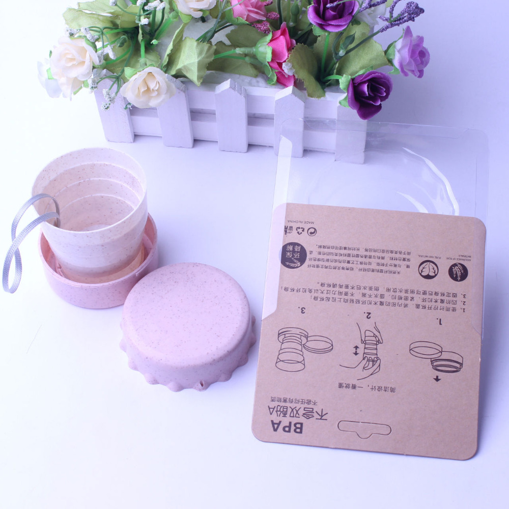 Milk Fruit Juice Drinking with Lid Straw Office Outdoor Drinking Wheat Straw Creative Eco-Friendly Gifts customize logo