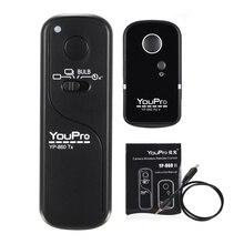 YouPro YP 860 S2 2.4G Kablosuz uzaktan kumanda soketi Yayın verici alıcı Sony A58 A7R A7 A7II A6000 DSLR kameralar