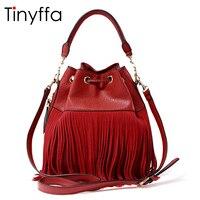 Bags Handbags Women Famous Brands 100 Genuine Leather Bag High Quality 2016 Fashion Tassel Luxury Handbags