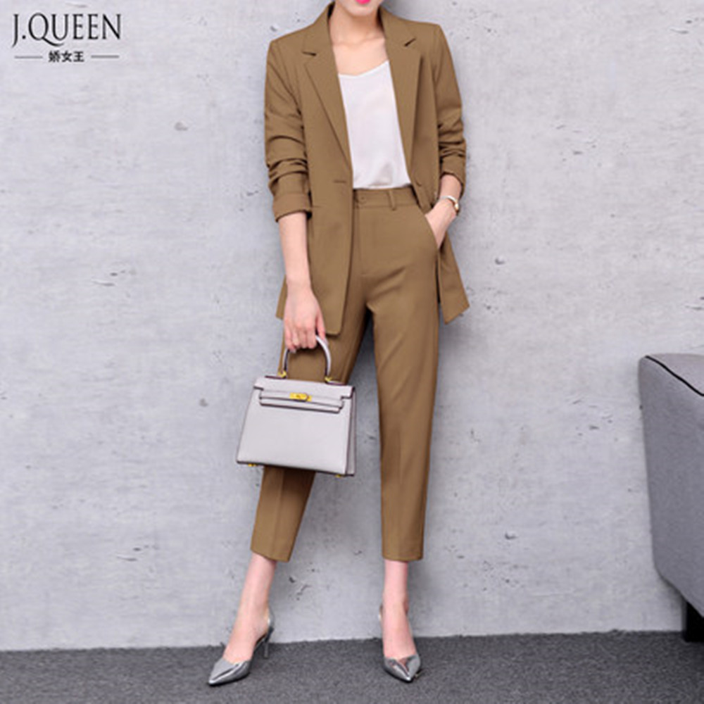 Popular Pant Suit Womens-Buy Cheap Pant Suit Womens lots from ...