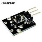 10pcs KY-004 3pin Button Key Switch Sensor Module for Diy Starter Kit 6*6*5mm 6x6x5mm KY004