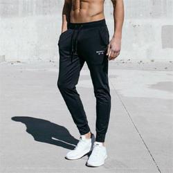 Весна, лето и осень 2019 брюки для бега для мужчин однотонные спортивные брюки для бега для мужчин брюки для бега