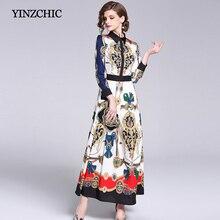 vestidos largos de otoño vestidos Vintage para mujer 2019