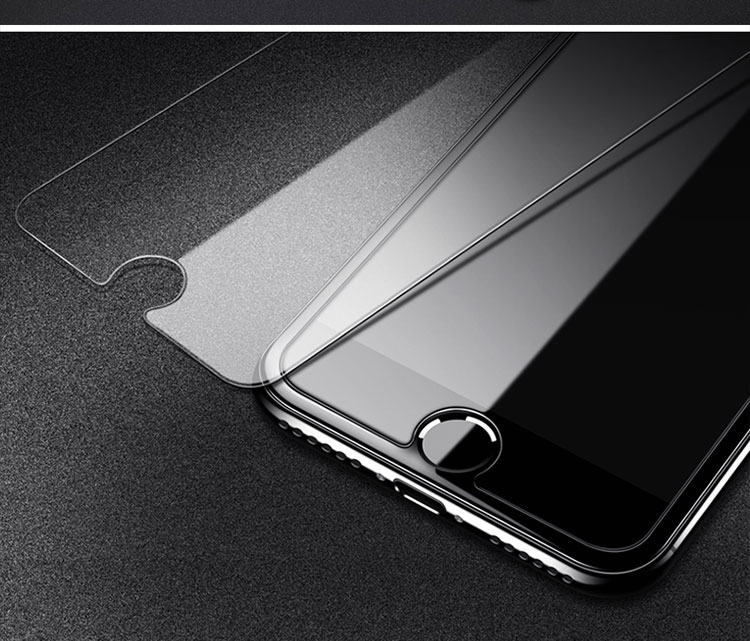 TOMKAS Protective Glass For iPhone 7 6S Glass on iPhone 5S 7 8 6 S Plus 4 Tempered Film For iPhone X XR XS Max Screen Protector